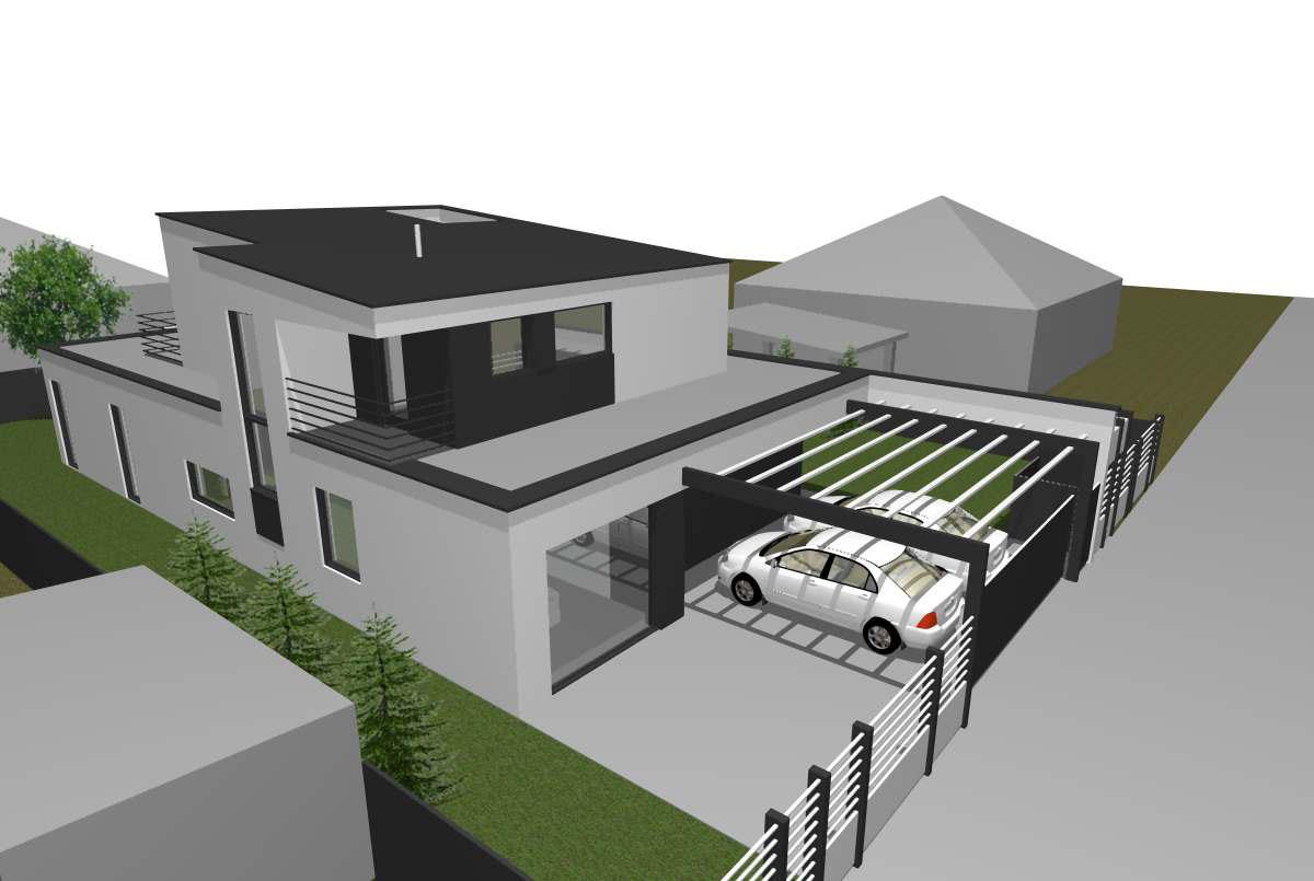 Minimalista családi ház a 3. Kerületben