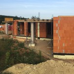 Minimalista családi ház építés Mogyoródon
