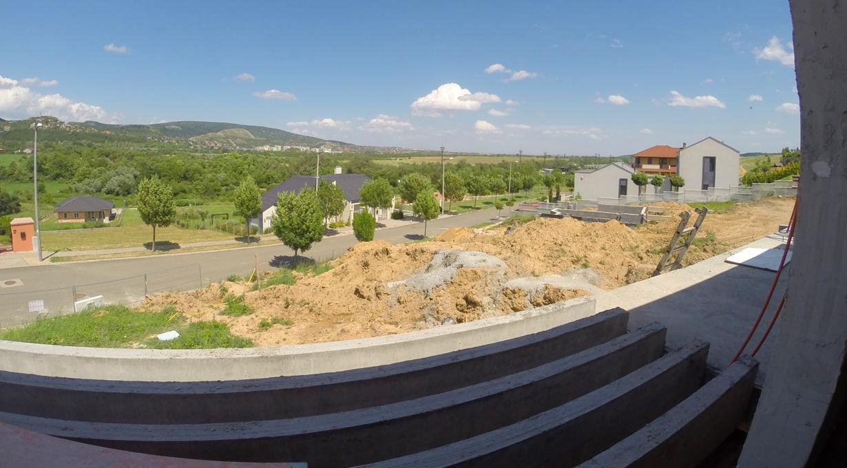 Minimalista családi ház építés Törökbálint