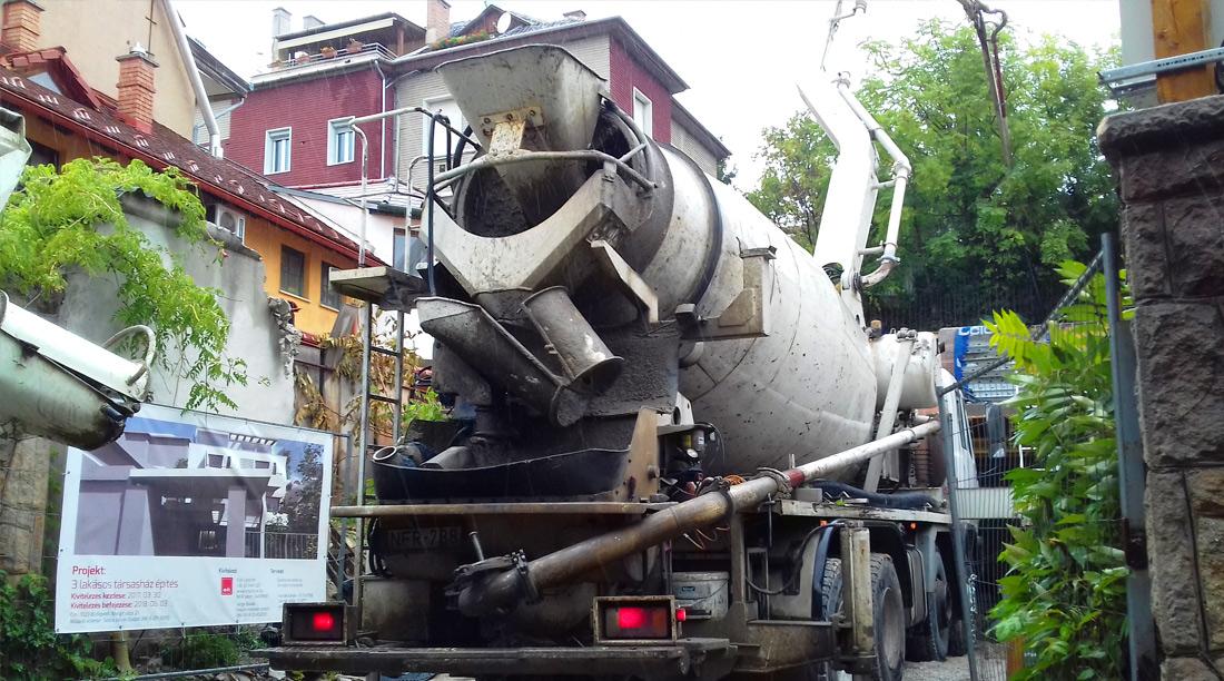 Társasház generál kivitelezés Budapesten