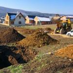 Családi ház építés Nagykovácsi földmunka