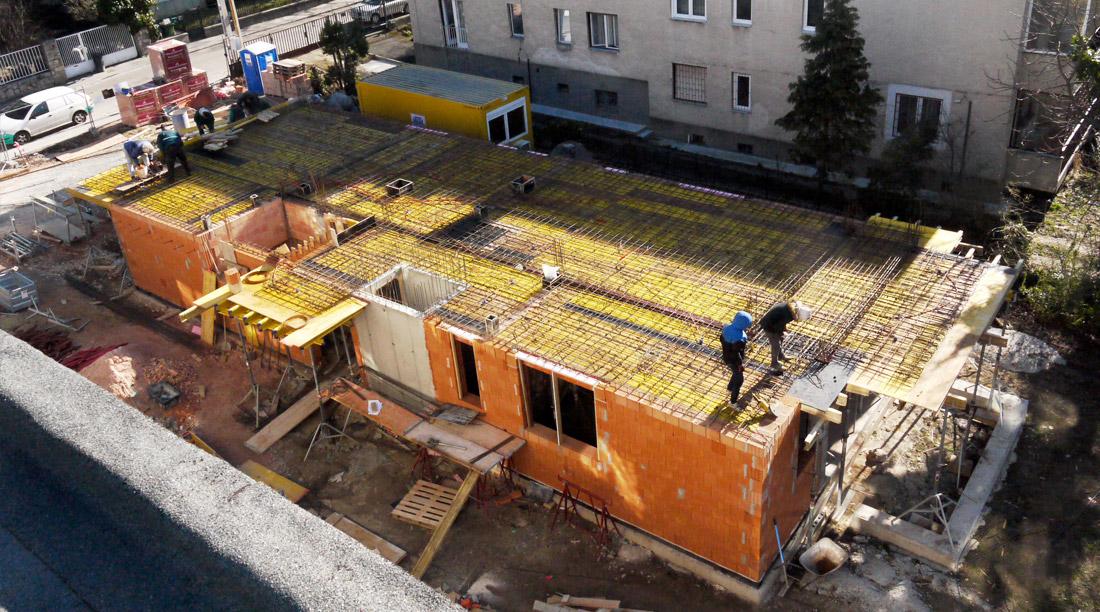 Háromlakásos lakóépület Budapest