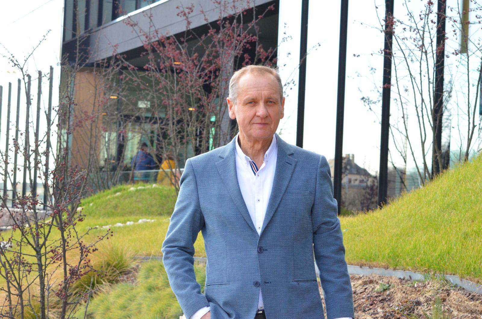 Miskó Pál, az EVB Építő Kft. tulajdonos cégvezetője